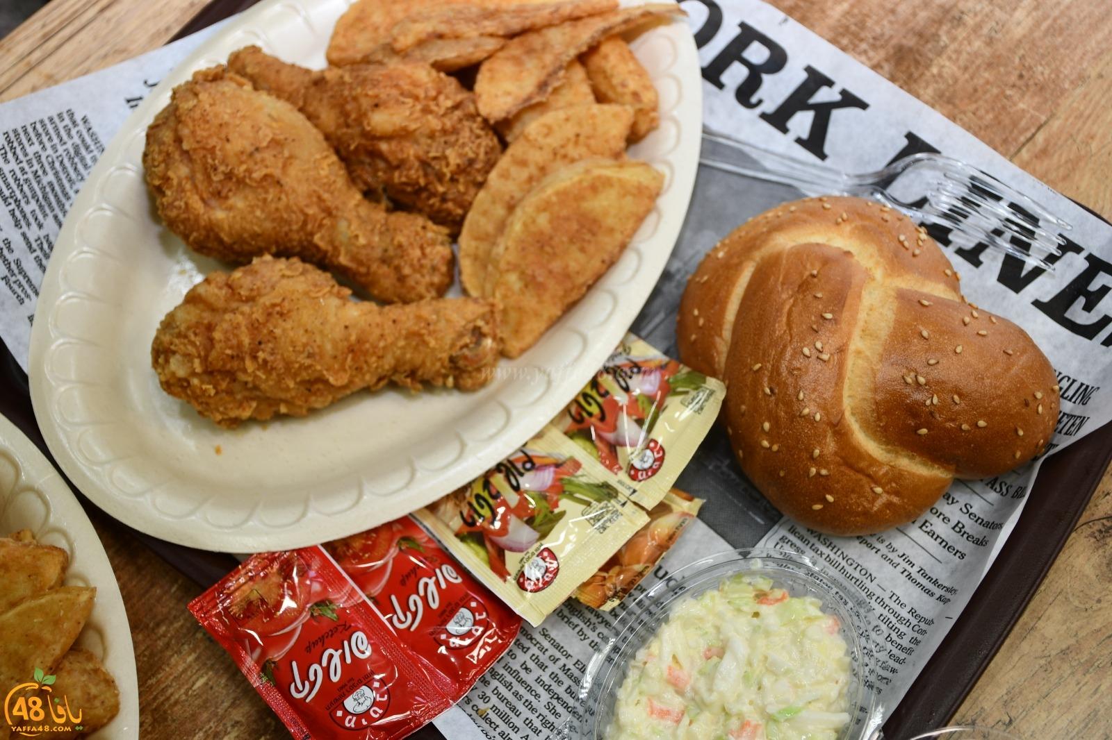 جديد - وجبات كنتاكي الشهيّة متوفرّة الآن لدى مطعم بالي بجيت بيافا