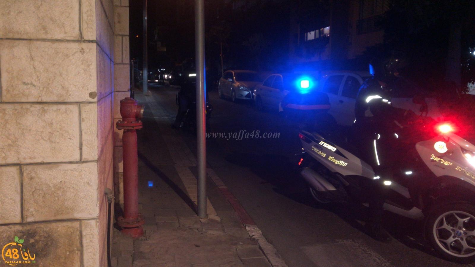 يافا: إطلاق نار في شارع عبد الغني دون وقوع اصابات
