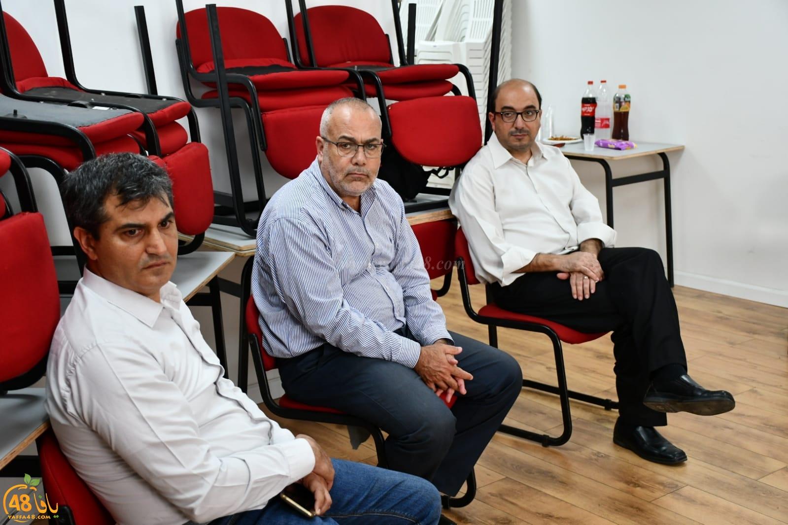 المؤسسات اليافية تحمل رسالة اعتذار من أهالي يافا الى سلطة الاطفائية