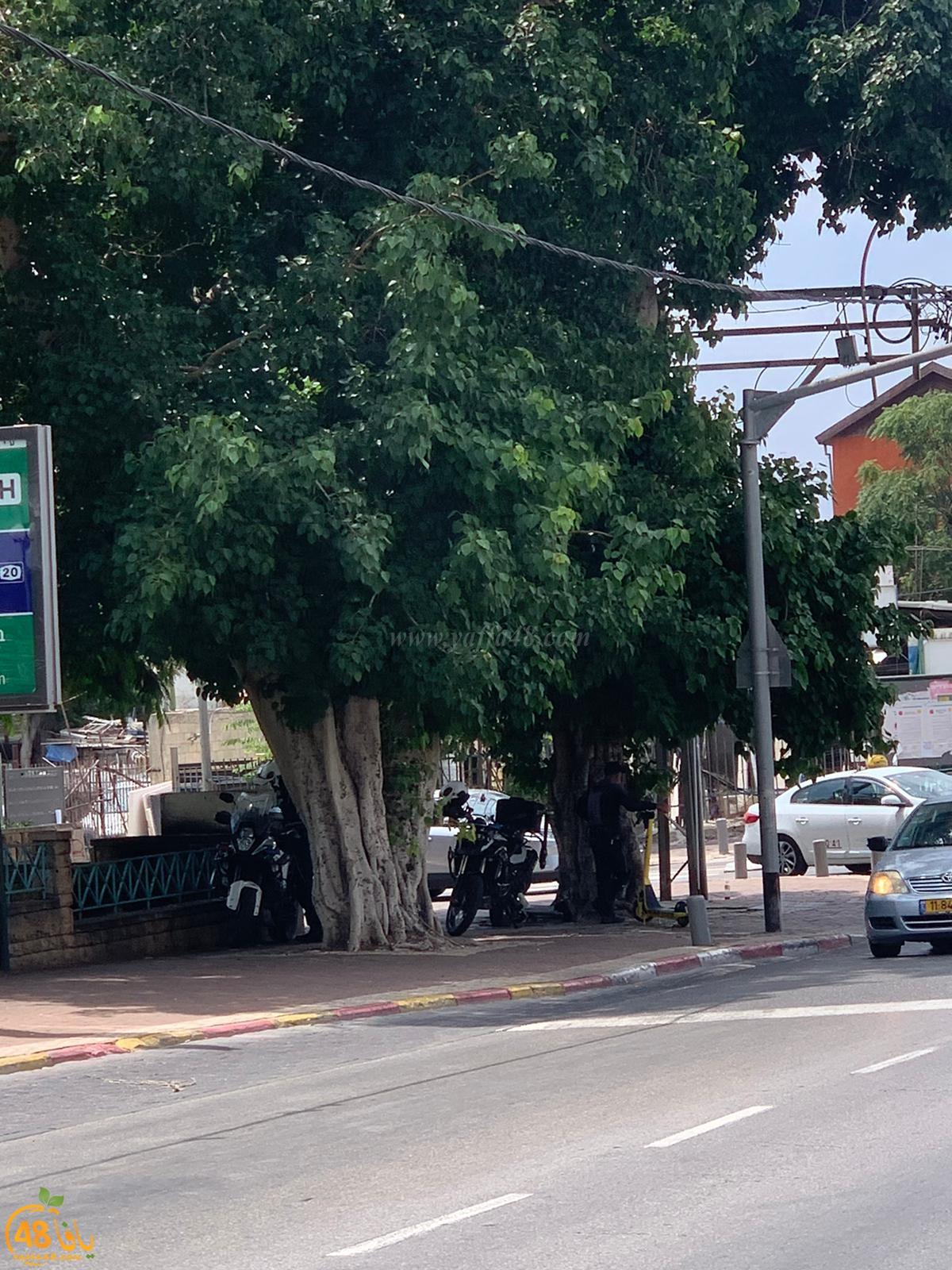 الشرطة تُباشر بحملة تحرير مخالفات ضد السائقين في يافا