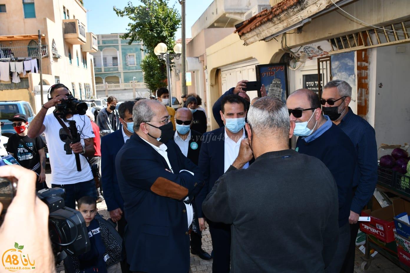 فيديو: القائمة المشتركة تُطلق حملتها الانتخابية في يافا
