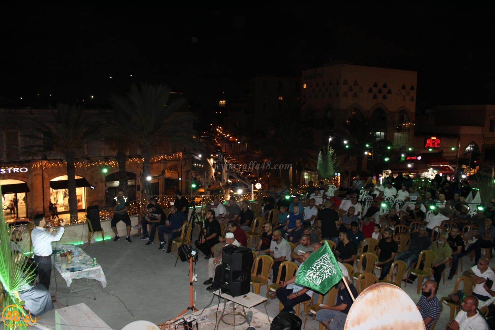 بالصور: مركز الدعوة بيافا يستضيف الشيخ د. رائد فتحي في سهرة ايمانية