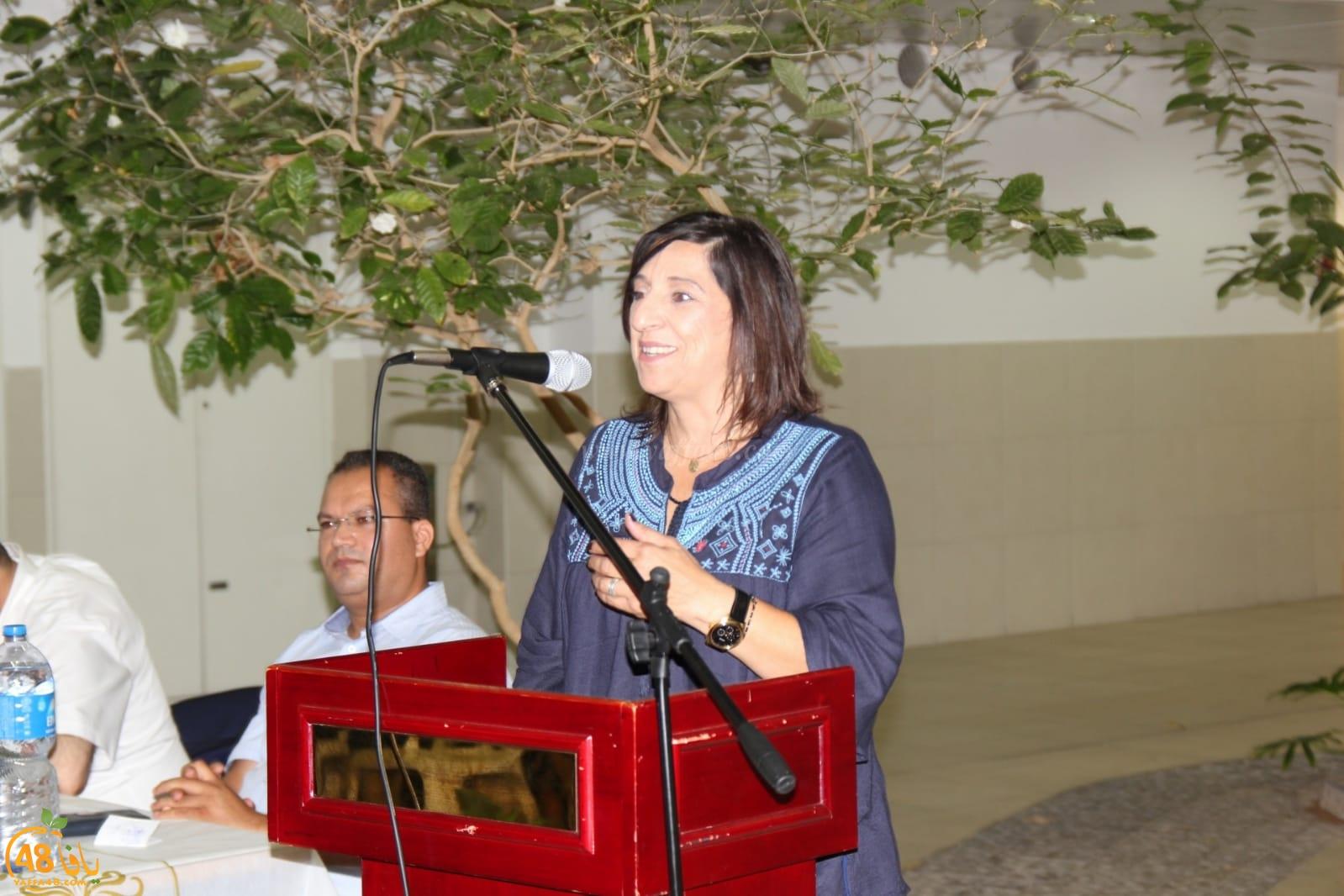 بالصور: محاضرة توعوية حول قانون القومية في مدرسة أجيال الثانوية بيافا