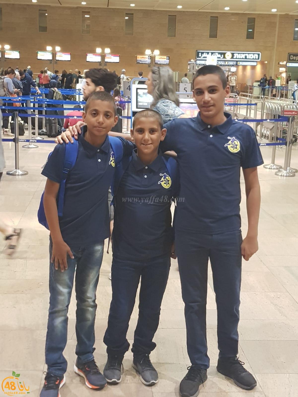 بالصور: لاعبو كرة اليد بمدرسة حسن عرفة يسافرون لأوروبا للمشاركة في بطولة دولية