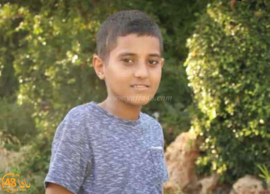 الرملة: الطفل عطية اياد ابو غانم 12 عاماً في ذمة الله
