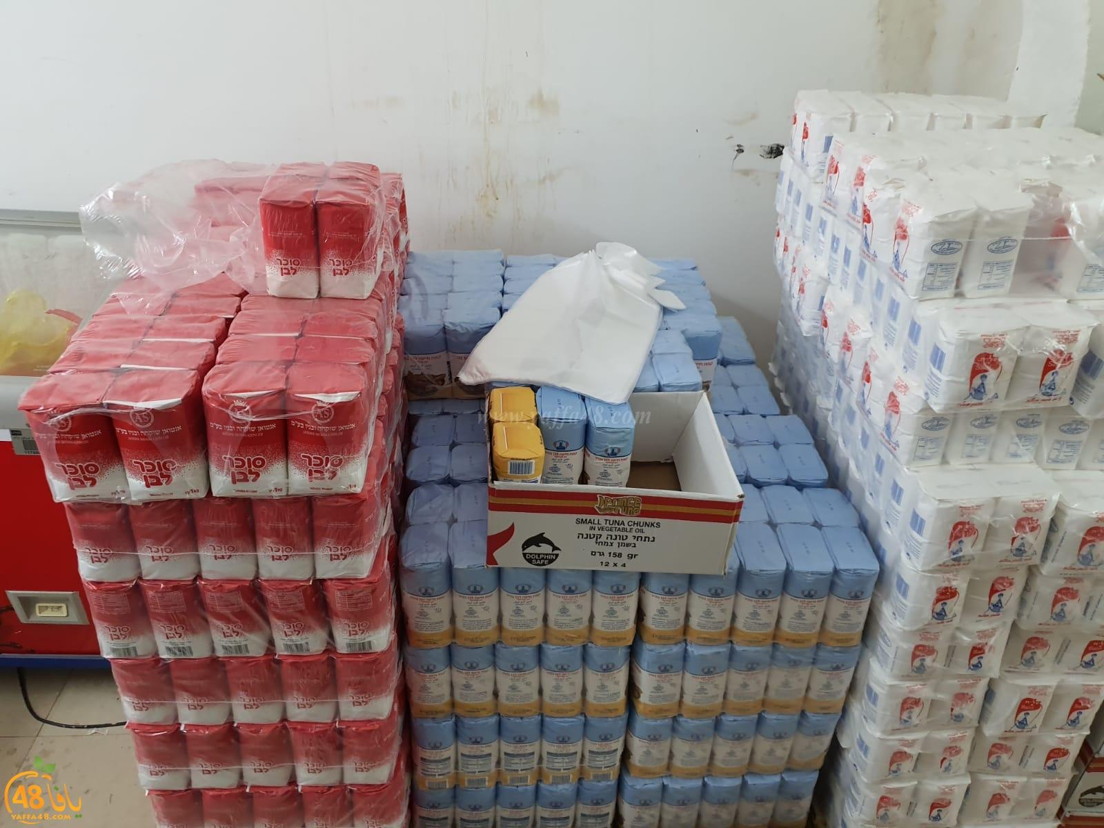 اللد: لجنة الزكاة تستقبل شحنة جديدة من الخضار لتوزيعها على الأهالي