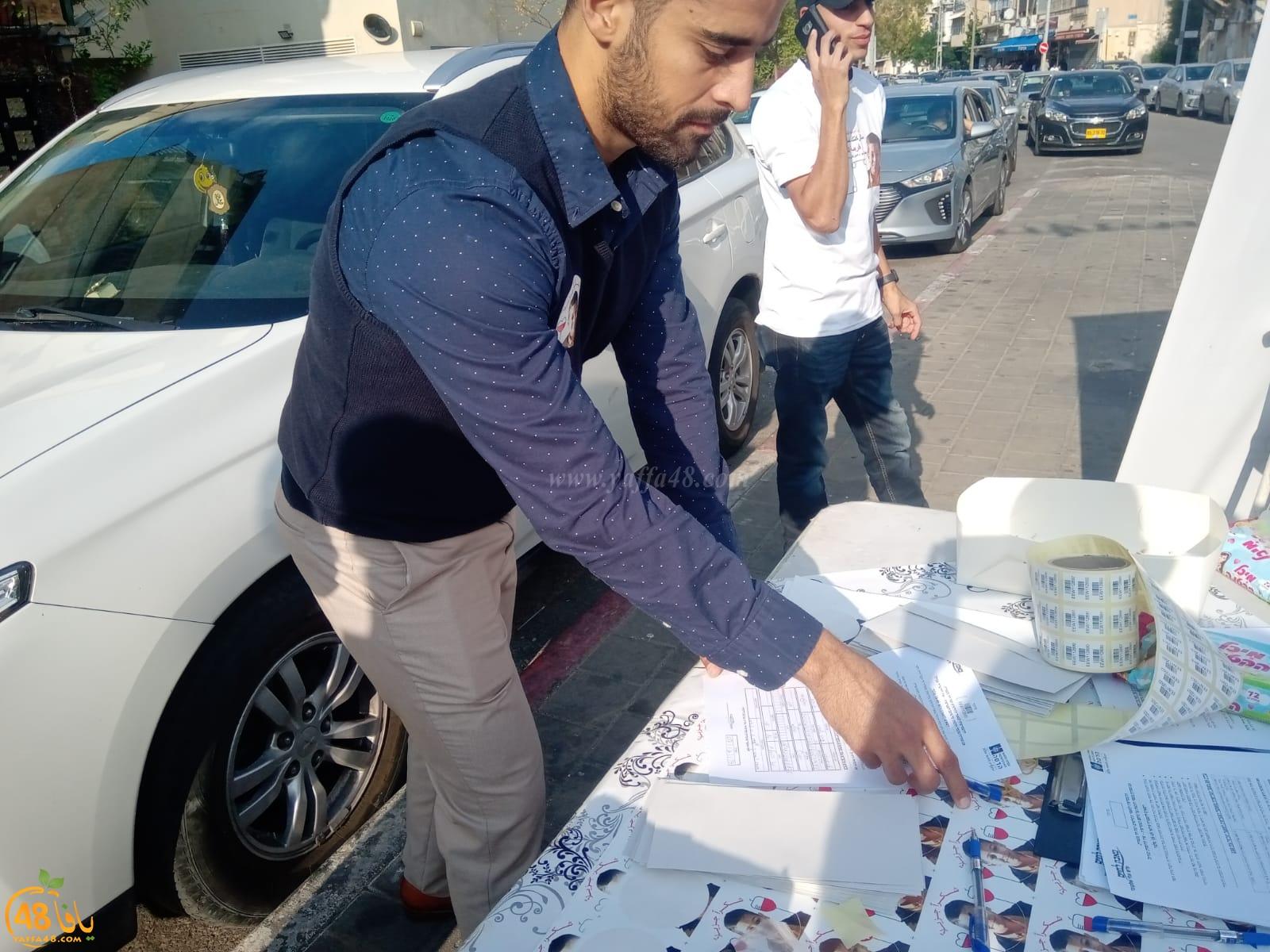 استمرار حملة إنقاذ الطفل طه أبو دعابس لليوم الثاني في عدّة محطّات بيافا