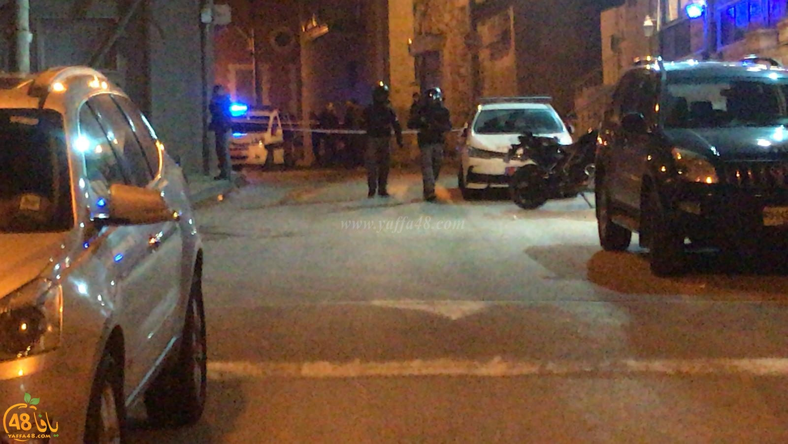 فيديو: اصابة فتى اثر تعرضه للطعن بآلة حادة خلال شجار بيافا