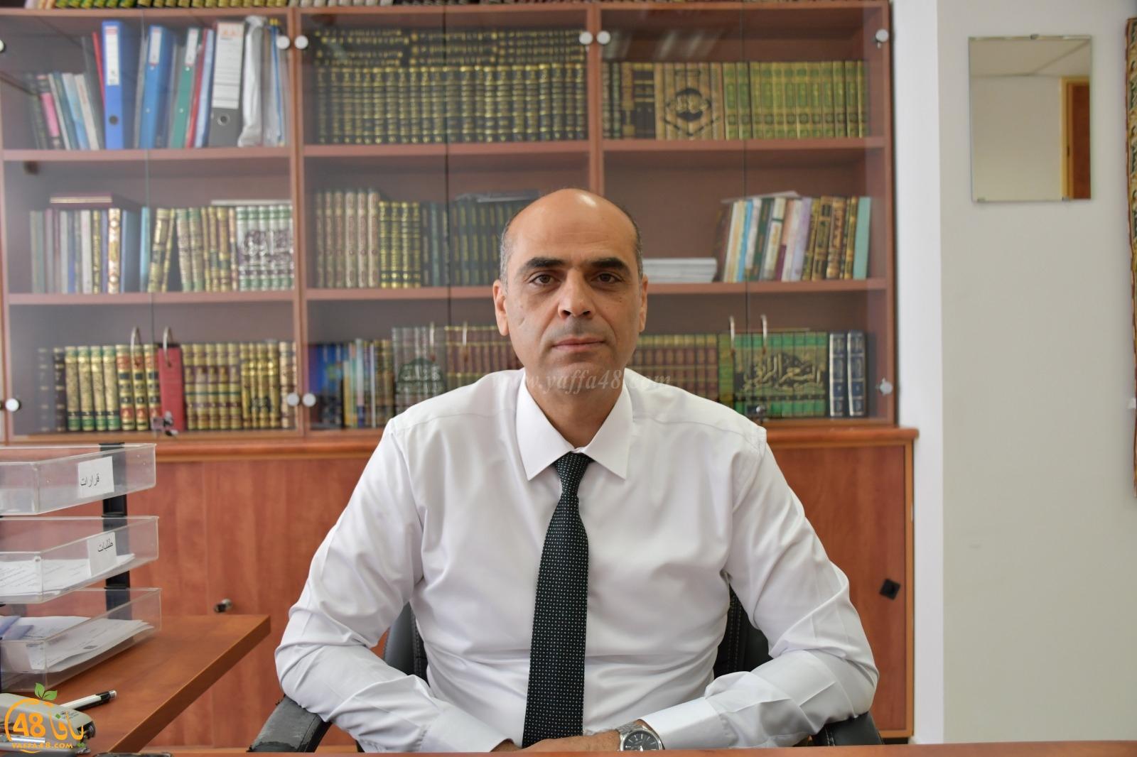 شاهد: لقاء مع القاضي د. اياد زحالقة مدير المحاكم الشرعية حول نقل المحكمة الشرعية من يافا