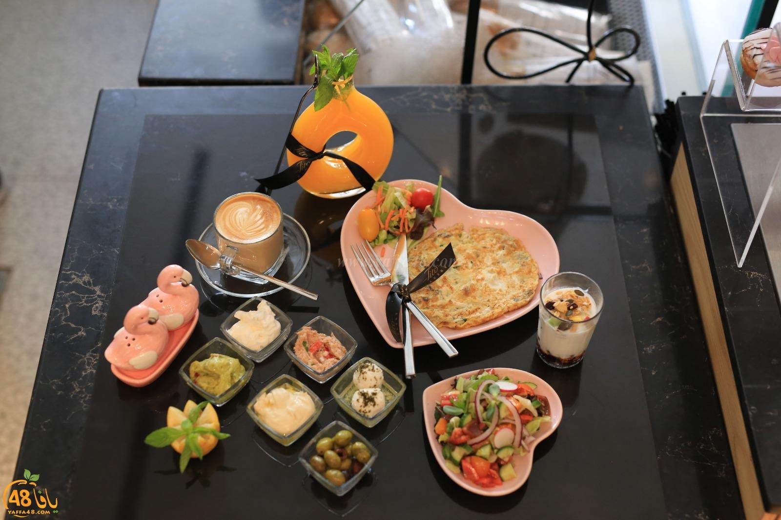 وجبات الافطار بطعم مختلف مع مقهى تيتو في مدينة يافا