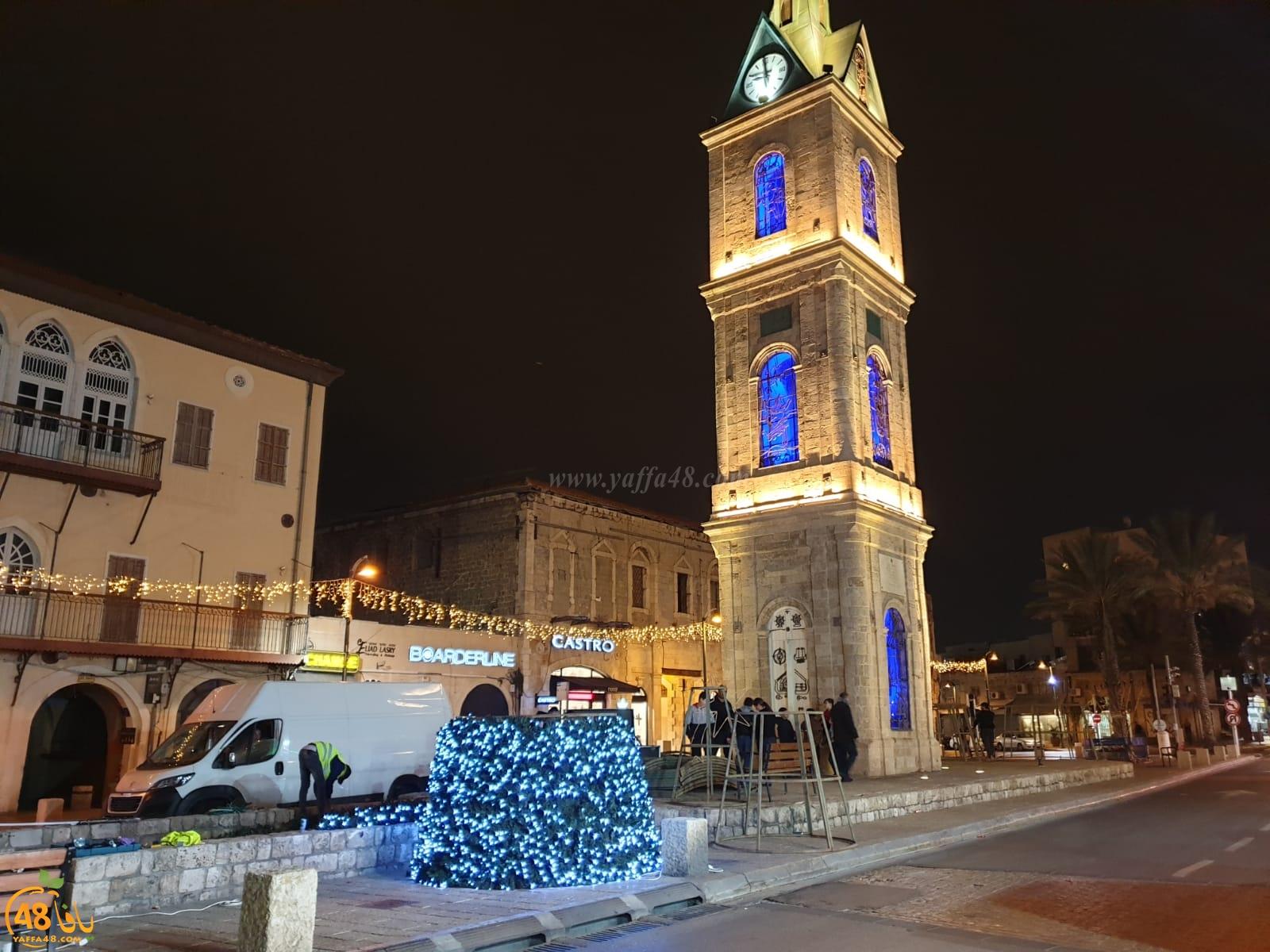 فيديو: للسنة السادسة على التوالي - استعدادات لإضاءة شجرة عيد الميلاد بيافا