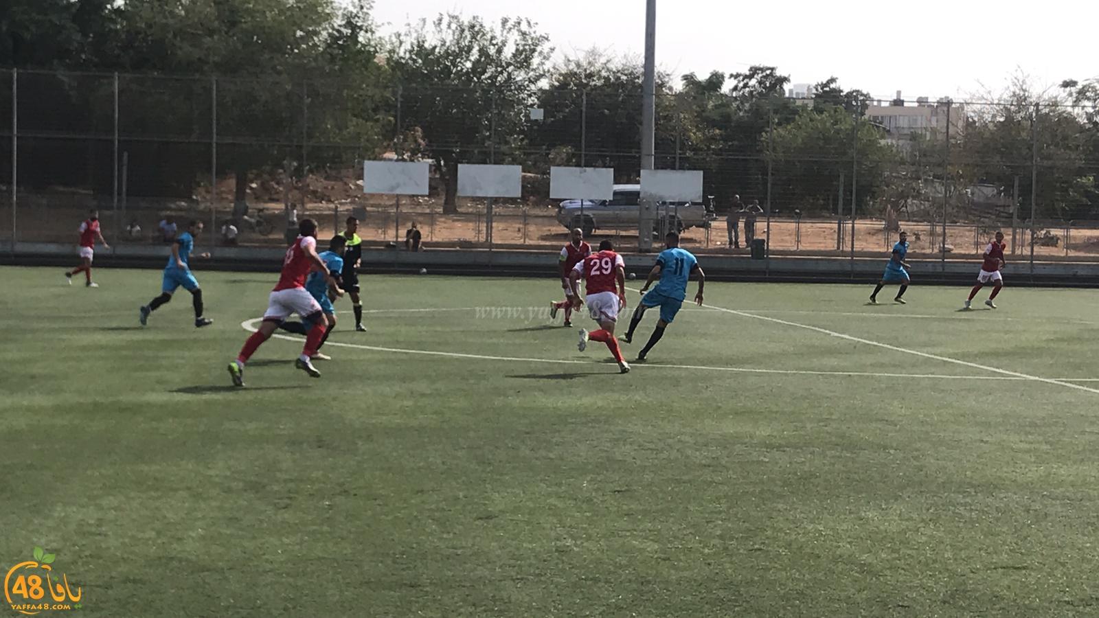 صور: فريق ابناء يافا يفوز على ابناء الطيبة بنتيجة 3-2