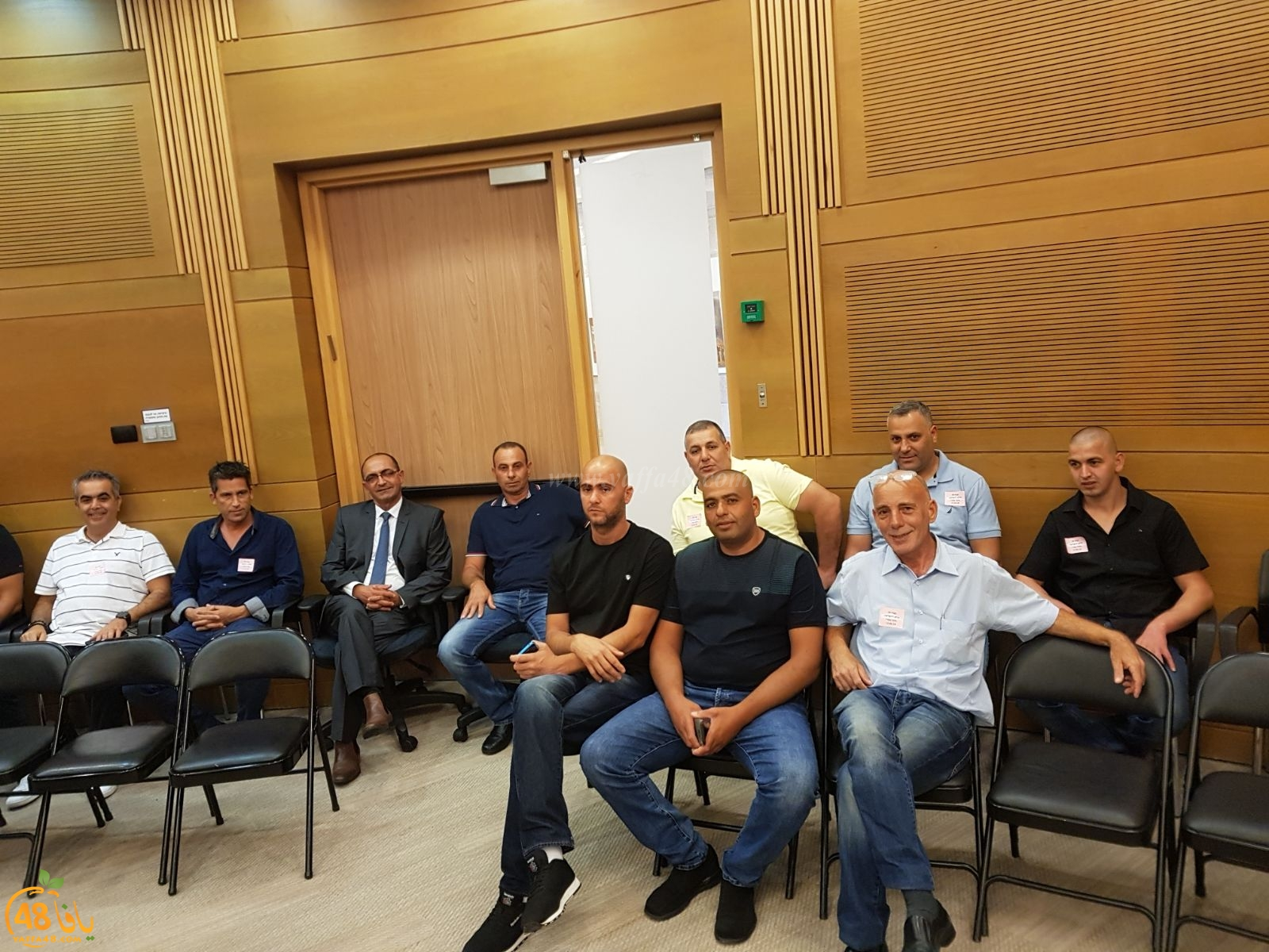 بالصور: لجنة الصيادين في ميناء يافا تُشارك في افطار جماعي بالكنيست