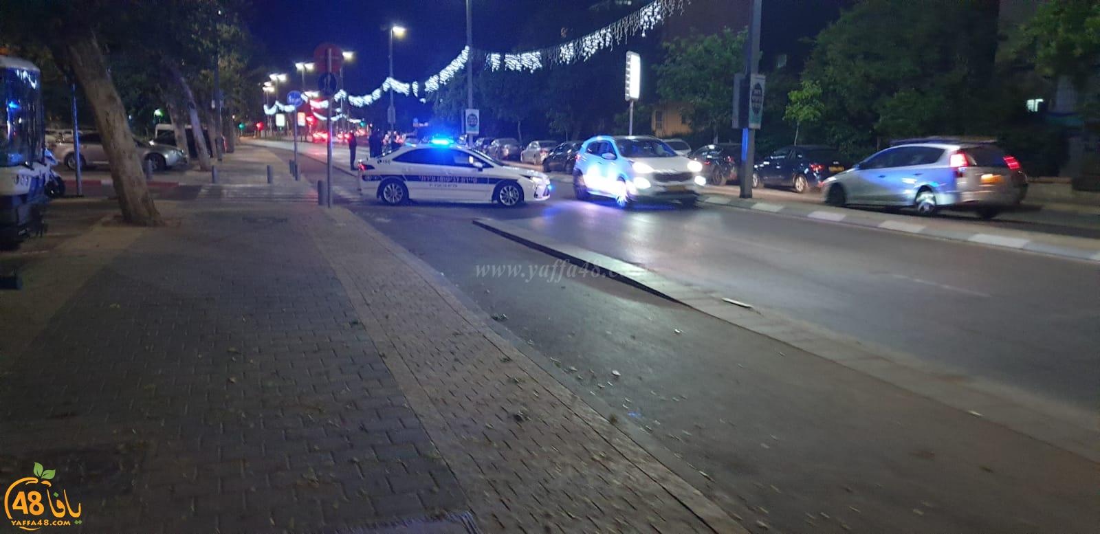 حملة كبيرة لشرطة السير والبلدية لتحرير مخالفات في شوارع يافا