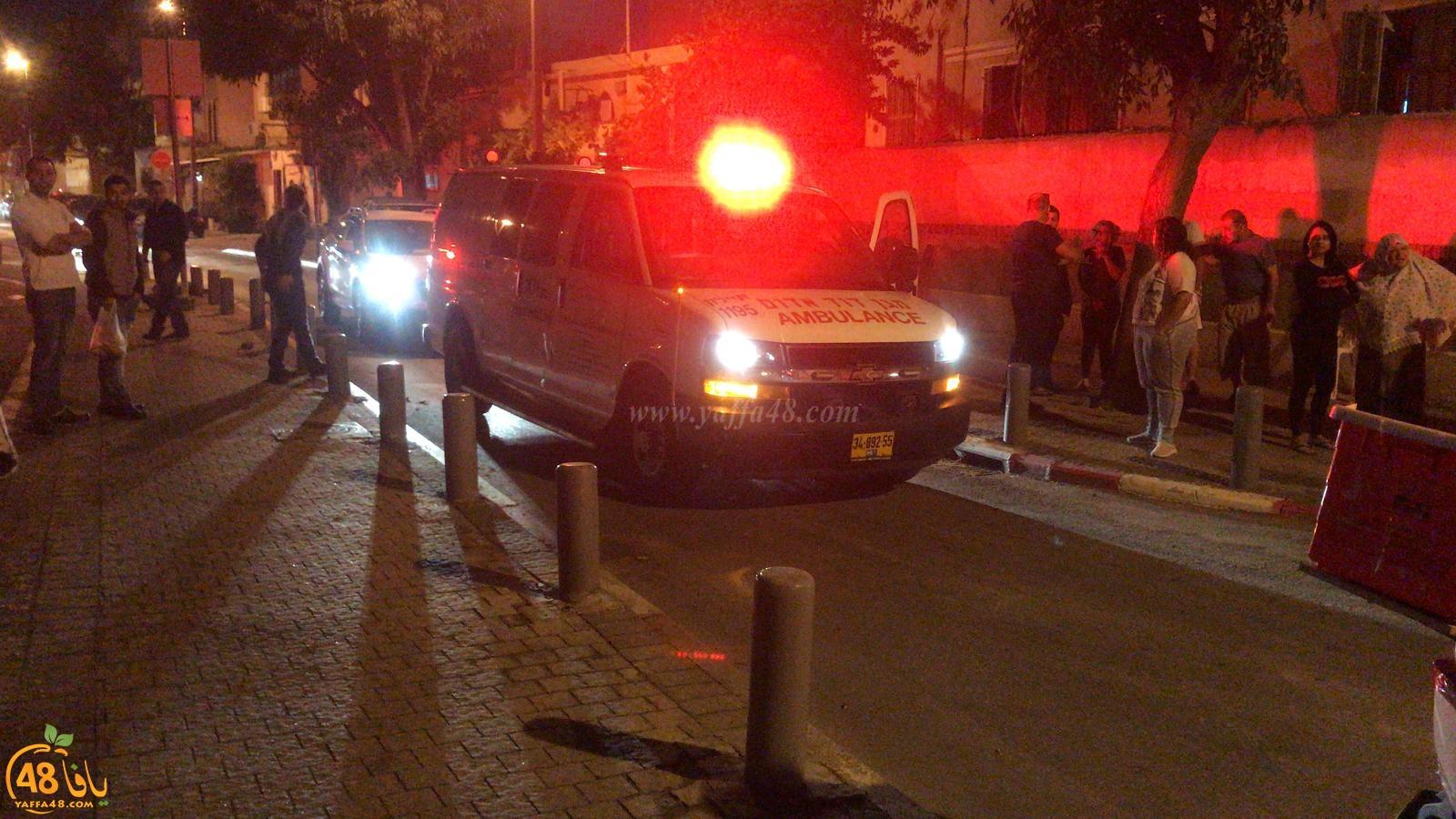 فيديو: اصابة طفيفة لسائق مركبة بحادث طرق ذاتي بيافا