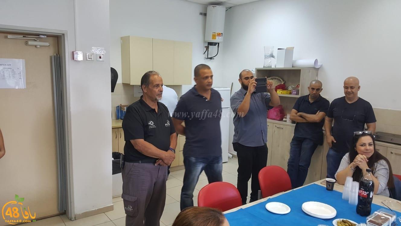 مدرسة أجيال الثانوية بيافا تكرم السيد حسن صندوقة أبو عثمان