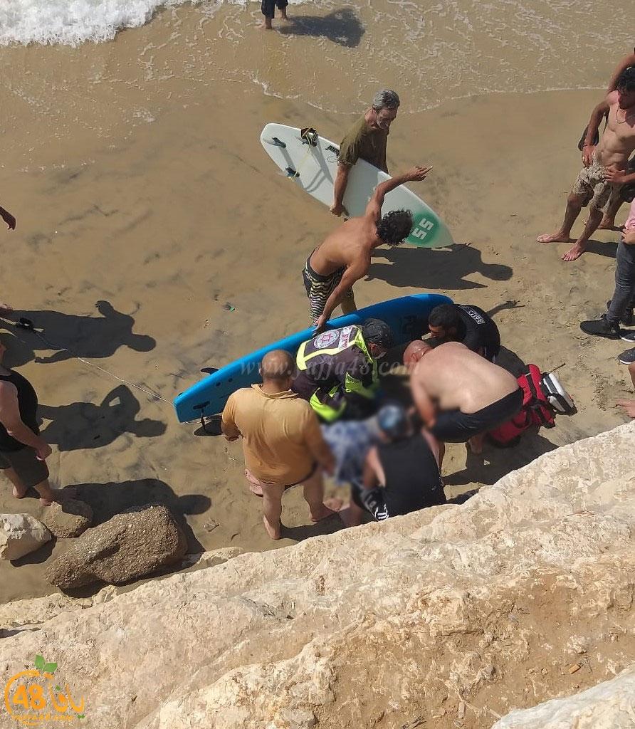 الغريق تلو الغريق.. غرق سيدّة على شاطئ يافا وحالتها خطرة