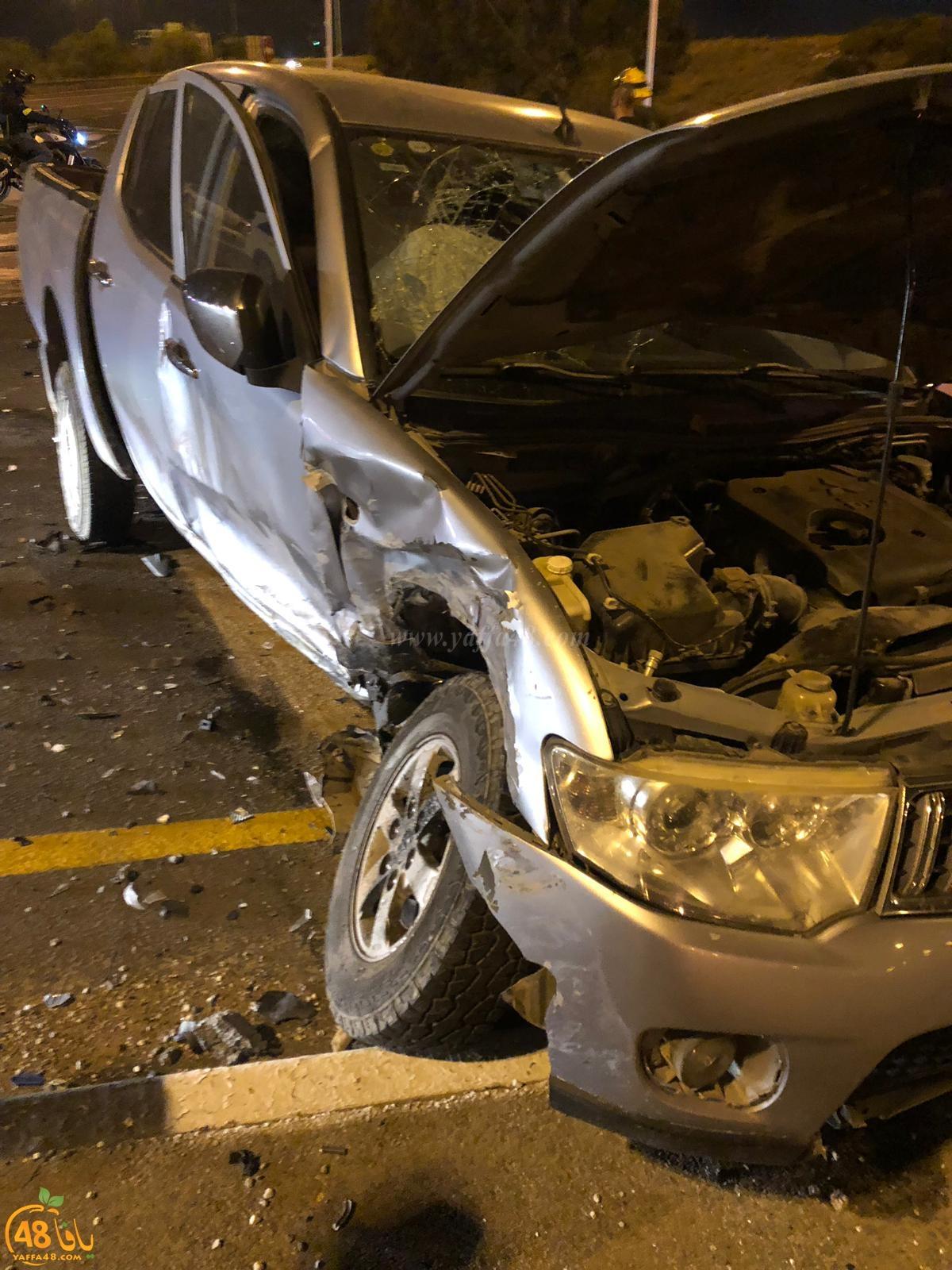 الرملة: اصابة طفيفة بحادث طرق بين مركبتين بالمدينة