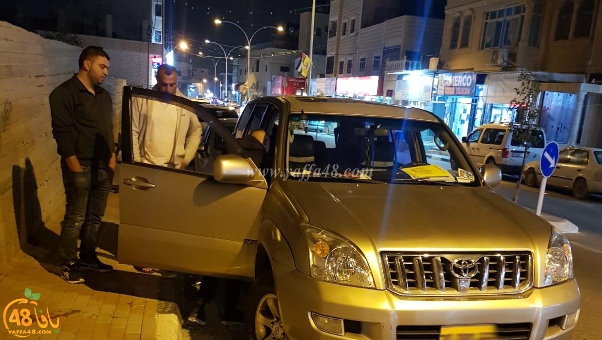 السطو على سيارة مواطن من الرملة في نعلين وسرقة حقيبته