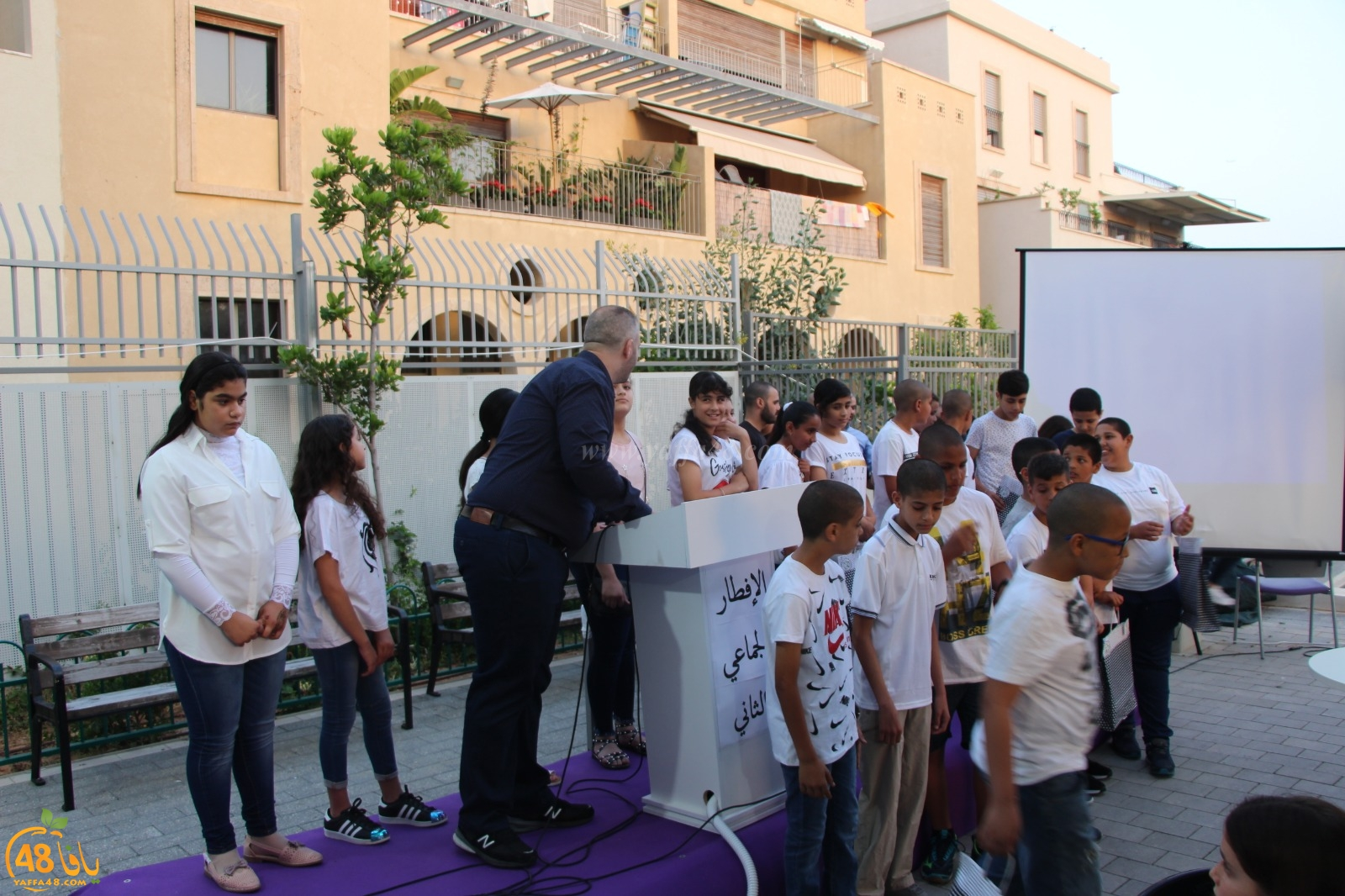 مدرسة يافا المستقبل تعقد إفطارها الجماعي الثاني