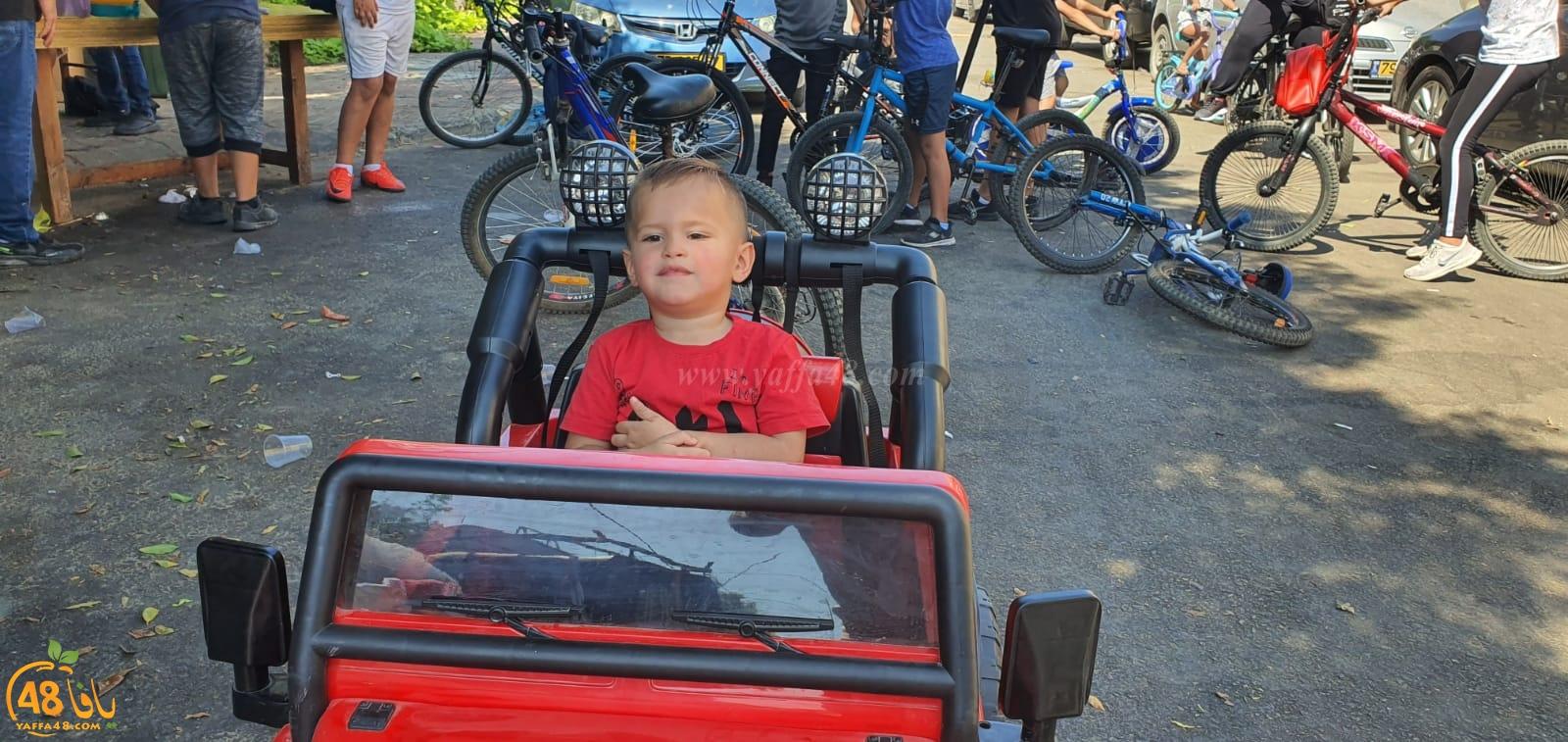 فيديو: أطفال اللد يستمتعون بأوقاتهم بركوب الدراجات الهوائية