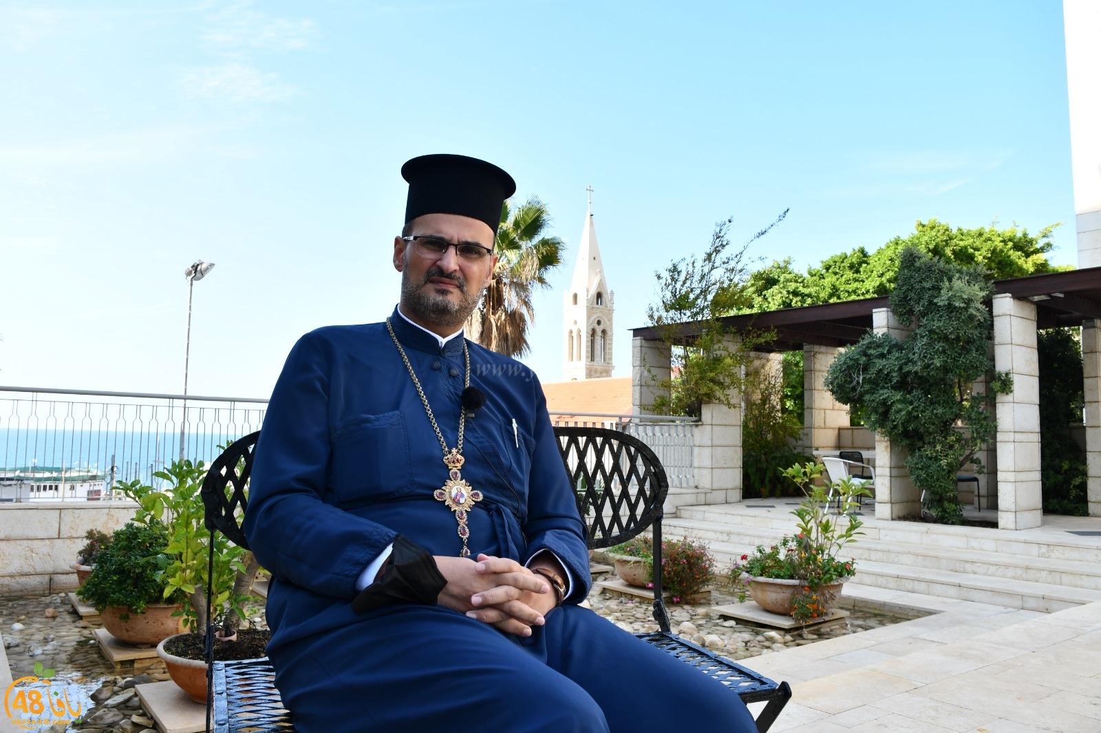 فيديو: الأب قسطنطين نصار سنلاحق من أساء لرموزنا الدينية وأدعو أهالي يافا للوحدة والتلاحم