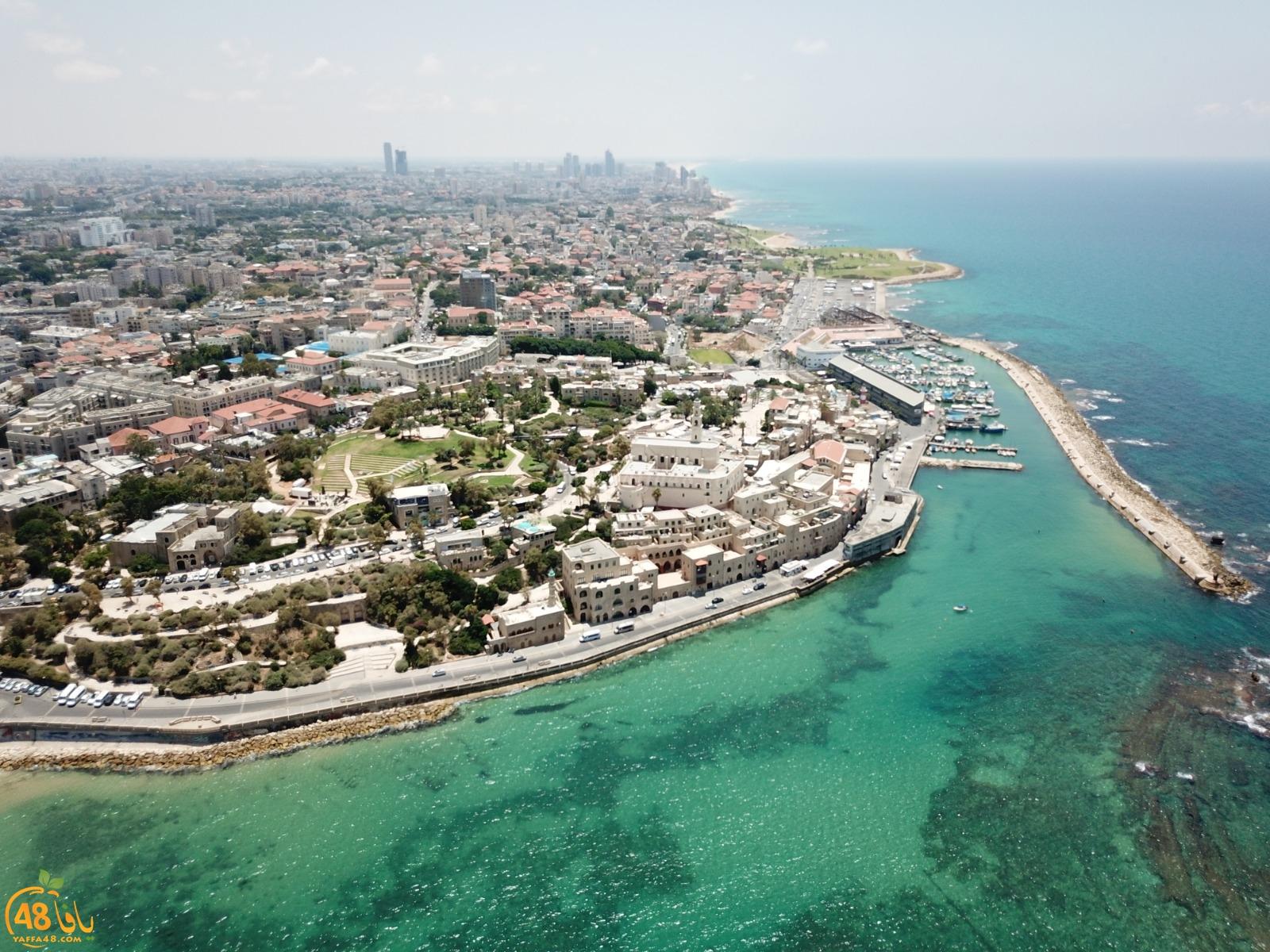 صور جويّة ساحرة لمدينة يافا الجميلة