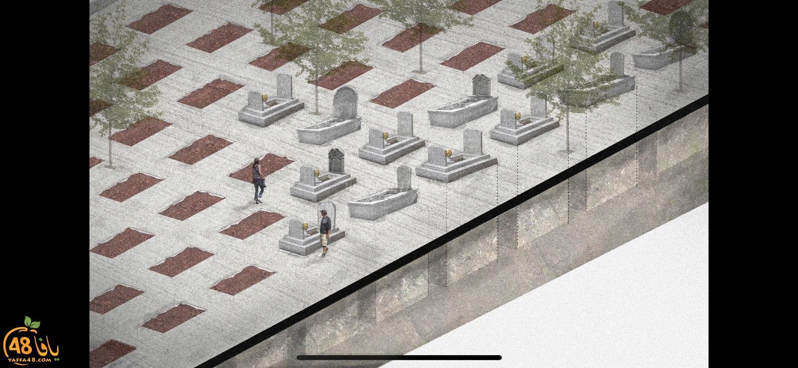 فيديو: ساهم معنا في حملة بناء أضخم مسطح لدفن الموتى في مقبرة طاسو الاسلامية بيافا