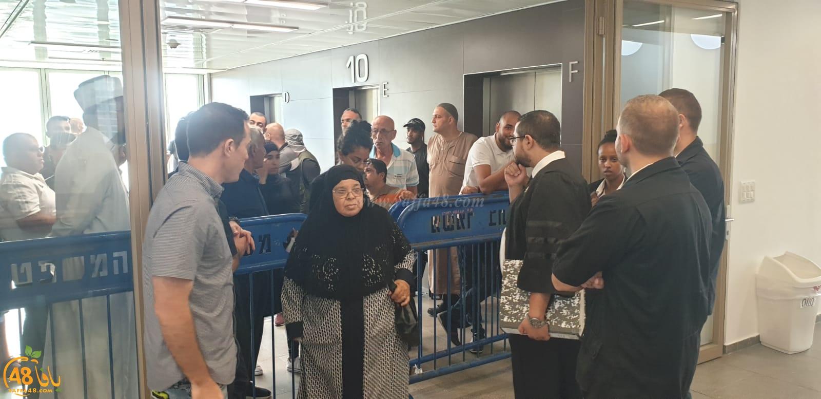 وسط حضور أهالي المدينة - انطلاق جلسة المحكمة الخاصة بمقبرة الاسعاف الاسلامية بيافا
