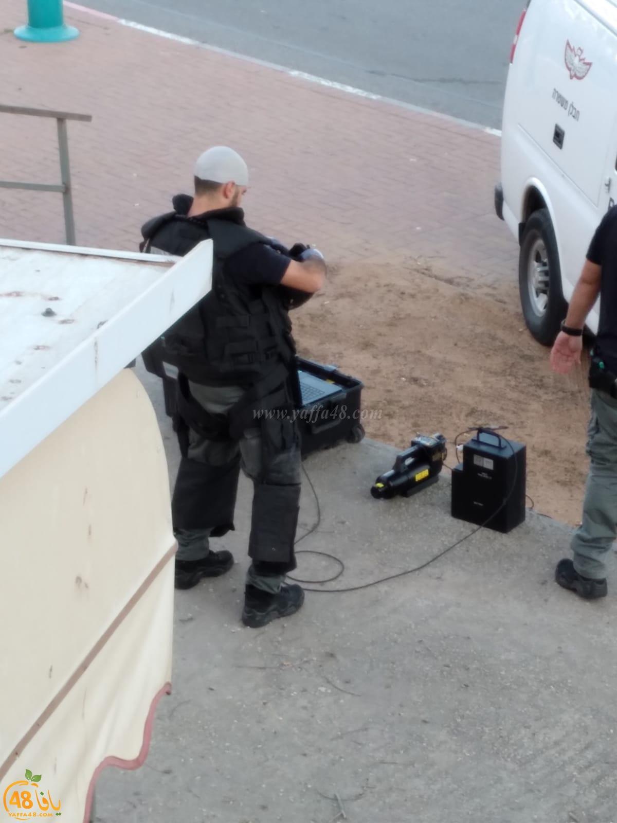اللد: الشرطة تعالج جسم مشبوه في حي رمات أشكول