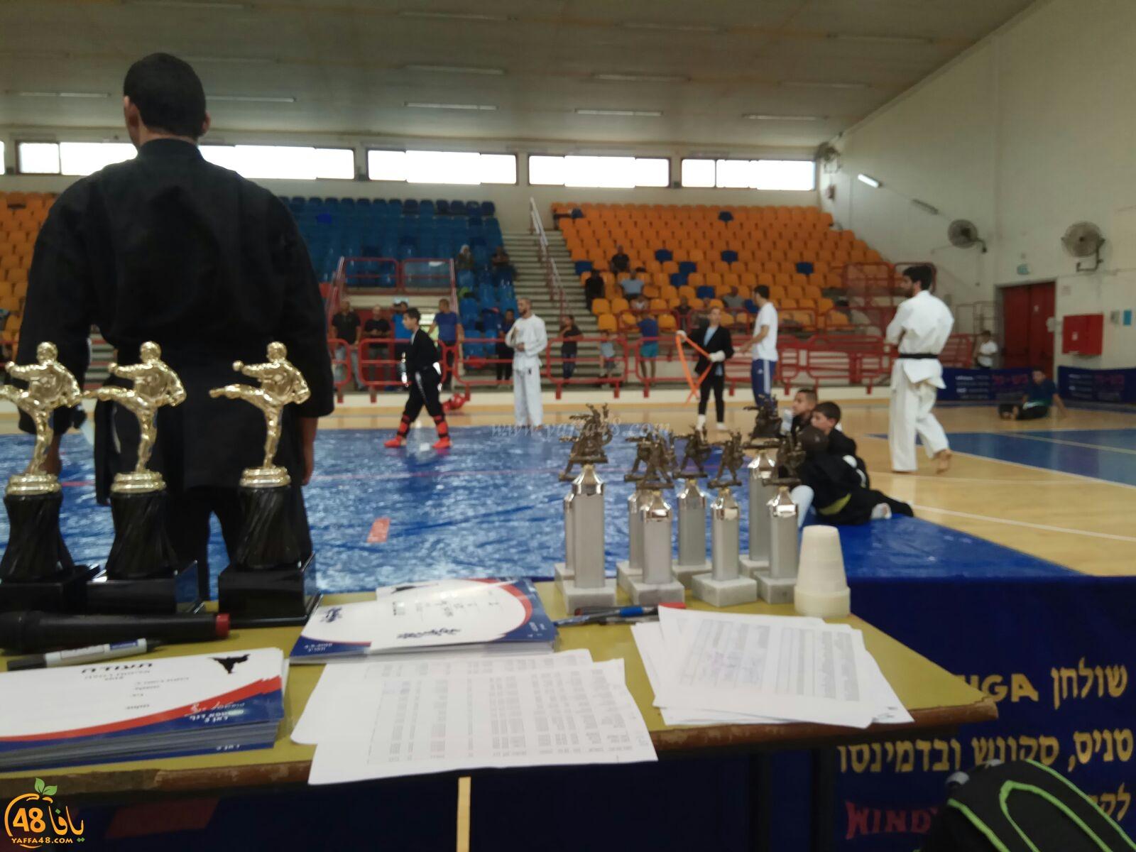 مشاركة واسعة في بطولة الرملة للكاراتيه والجودو بتنظيم المدرب مصطفى الدنف