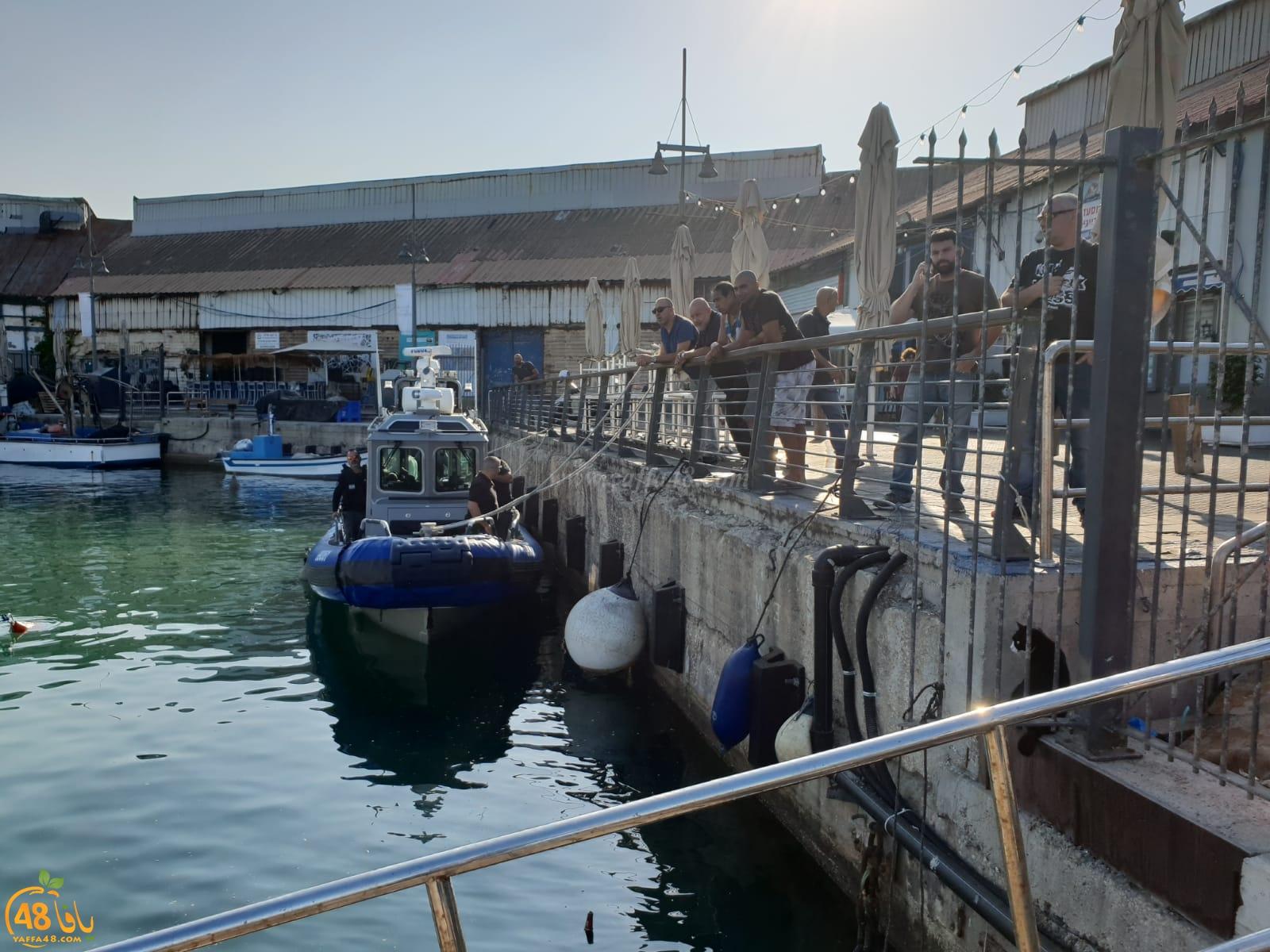 الشرطة تشن حملة تفتيش على قوارب الصيادين في ميناء يافا