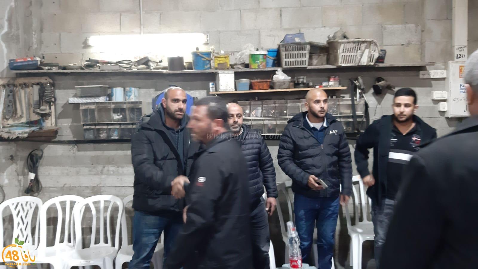 اللد: عقد راية الصلح بين عائلتي الهويدي والملّاحي