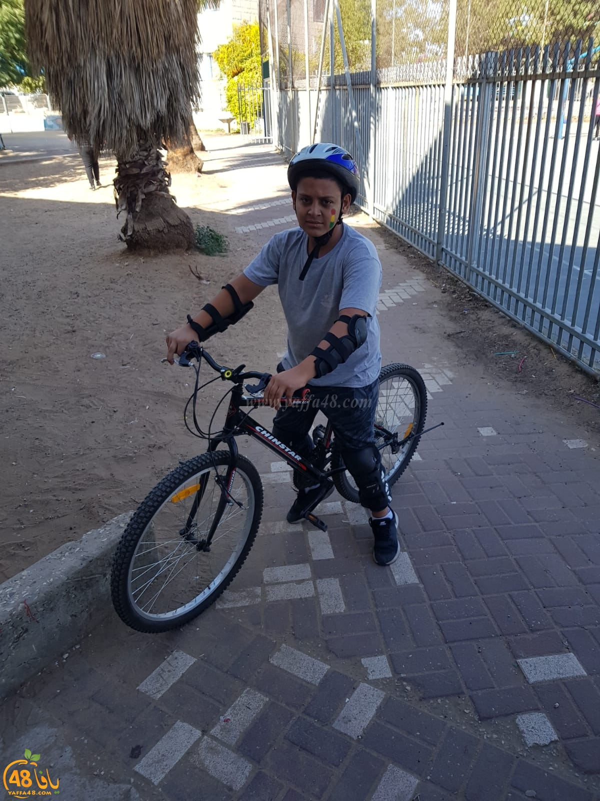 فعاليات الحذر على الطريق في مدرسة الأمل بالرملة