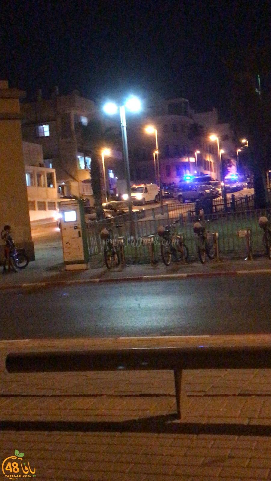 يافا: إصابة شخصين بجروح طفيفة بحادث بين دراجتين ناريتين
