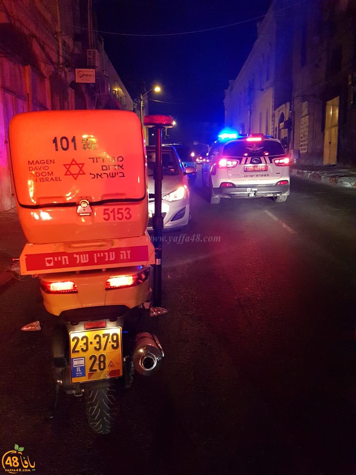 يافا - الشرطة: القاء قنبلة صوتية في شارع ييفت دون وقوع اصابات