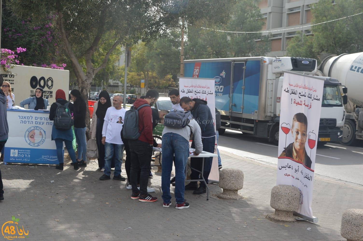 بعد نجاح الحملة في يافا - تجاوب كبير لانقاذ حياة الطفل طه ابو دعابس بجامعة تل ابيب