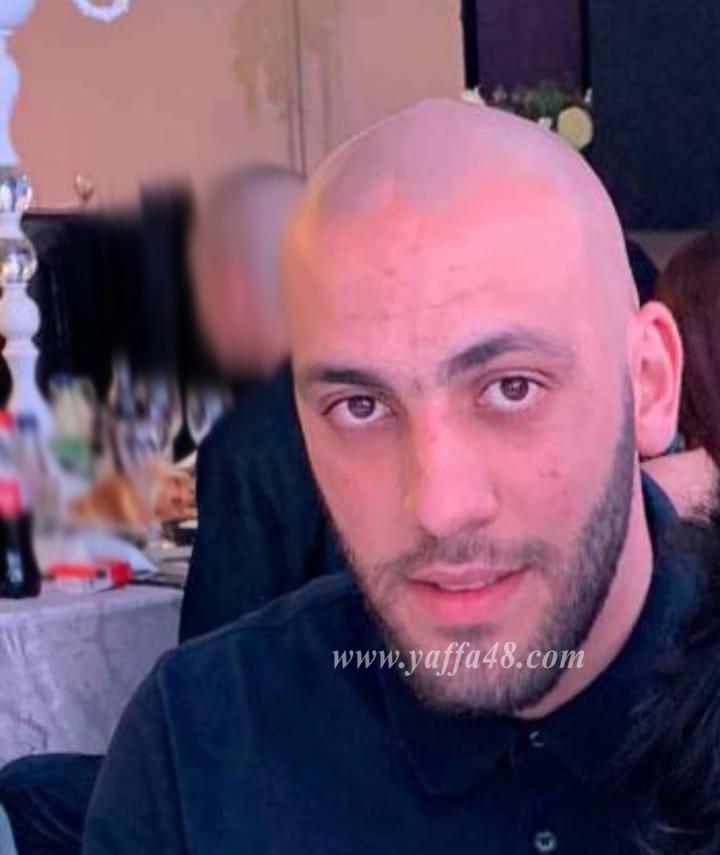 يافا: مصرع الشاب غانم حناوي 31 عاماً من اللد اثر تعرضه لاطلاق نار بالمدينة