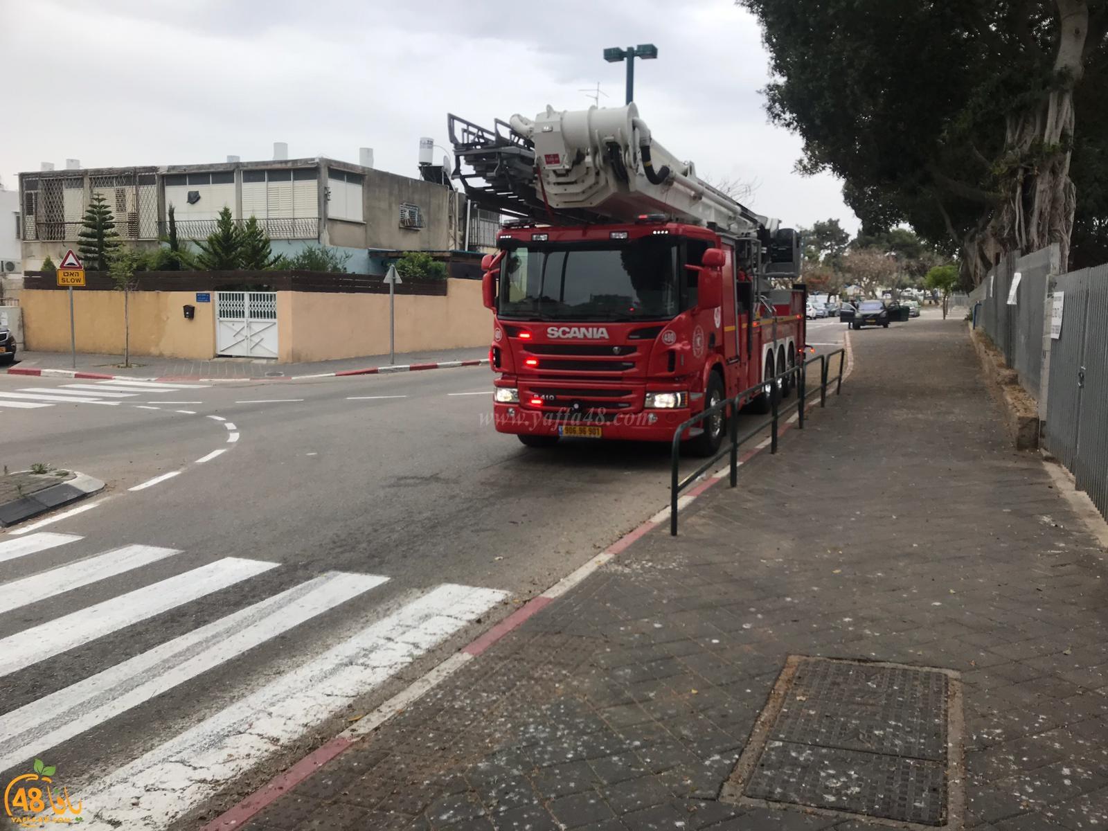 فيديو: حريق داخل مدرسة عيروني ز بيافا ولا أنباء عن اصابات