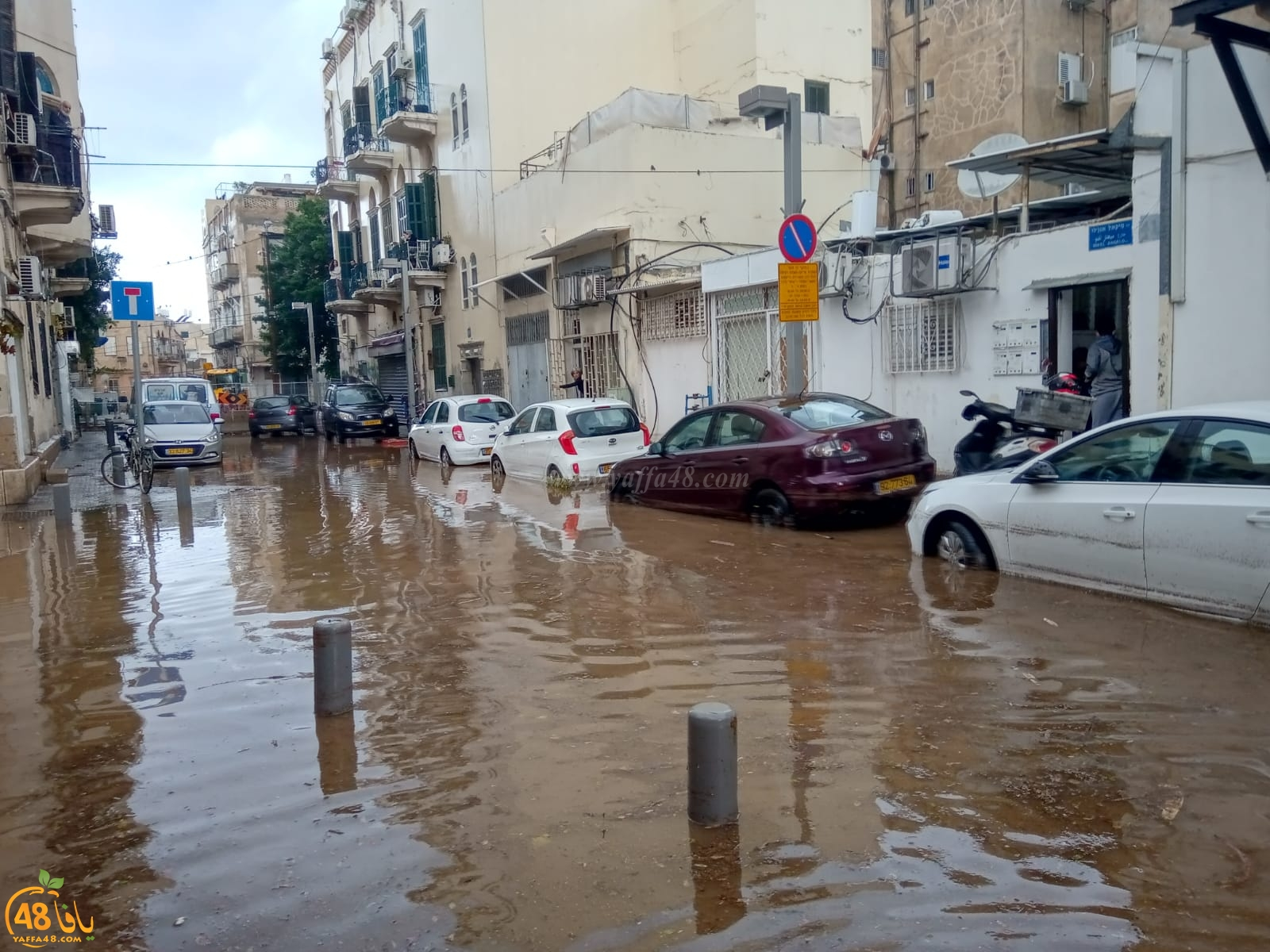 يافا: مخاوف من تكرار أحداث العام الماضي مع دخول موسم الأمطار