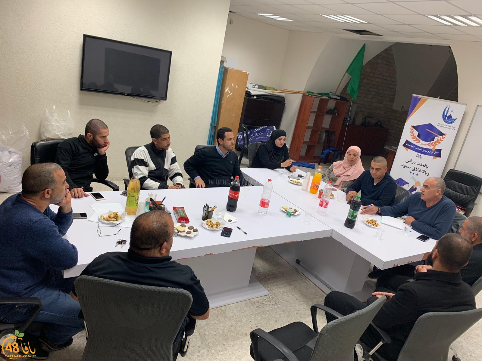 محمد دريعي رئيساً - الاعلان عن تركيبة الهيئة الاسلامية بيافا في دورتها الـ15