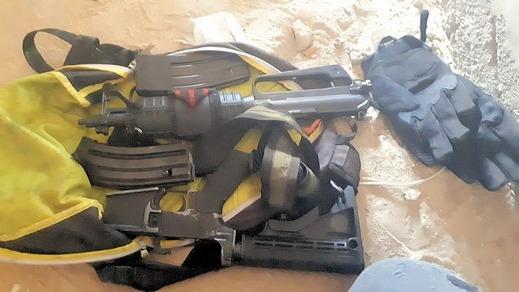 الشرطة: ضبط سلاح من نوع M16 في الرملة واعتقال مشتبه