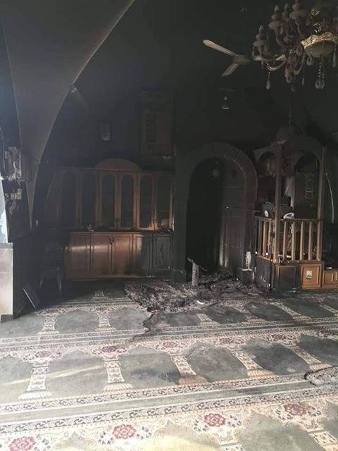 تدفيع الثمن في القدس : اضرام النار داخل مسجد في بيت صفافا
