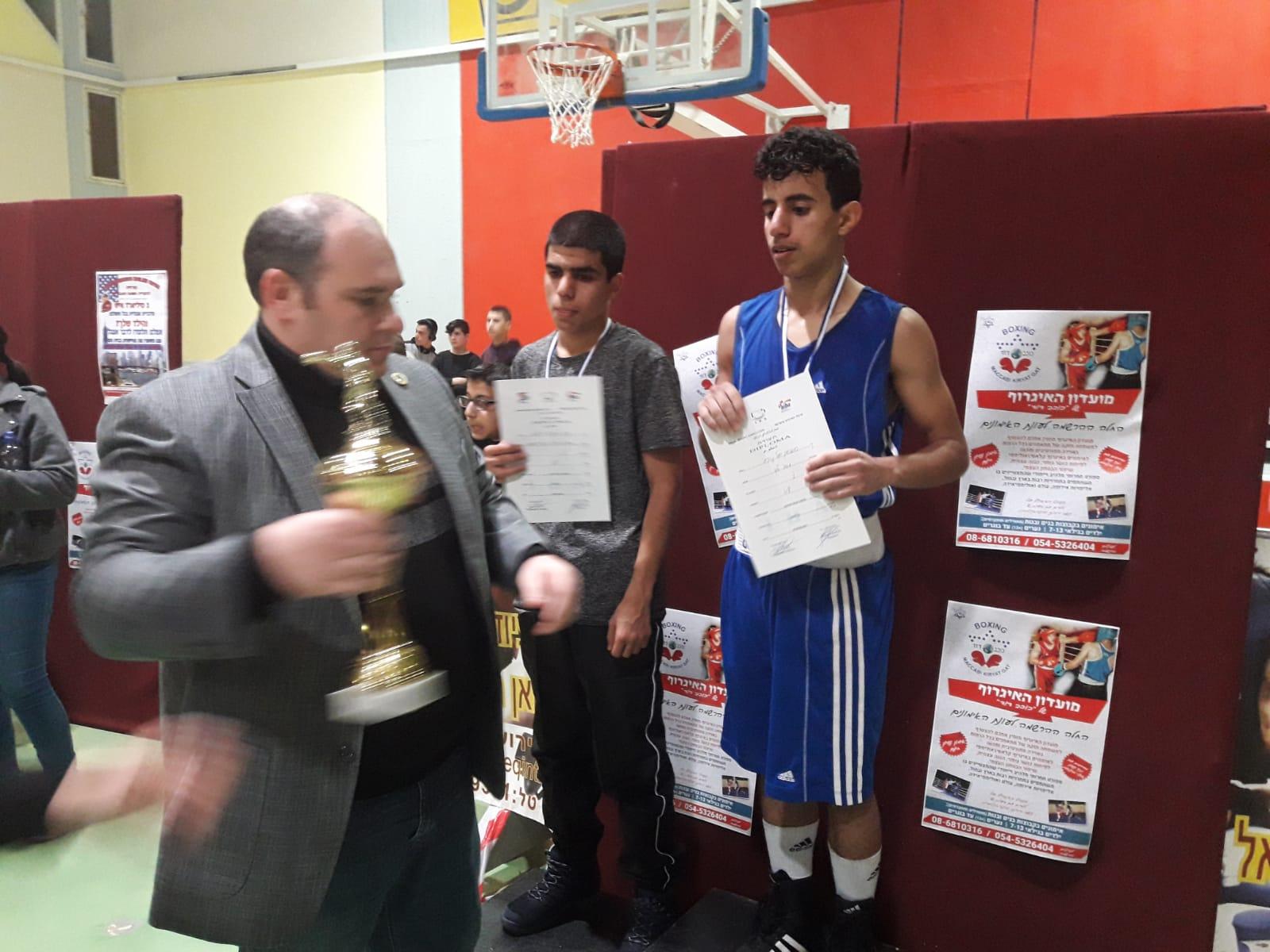 كريات غات : انجاز كبير شباب اللد في بطولة الدولة للملاكمة