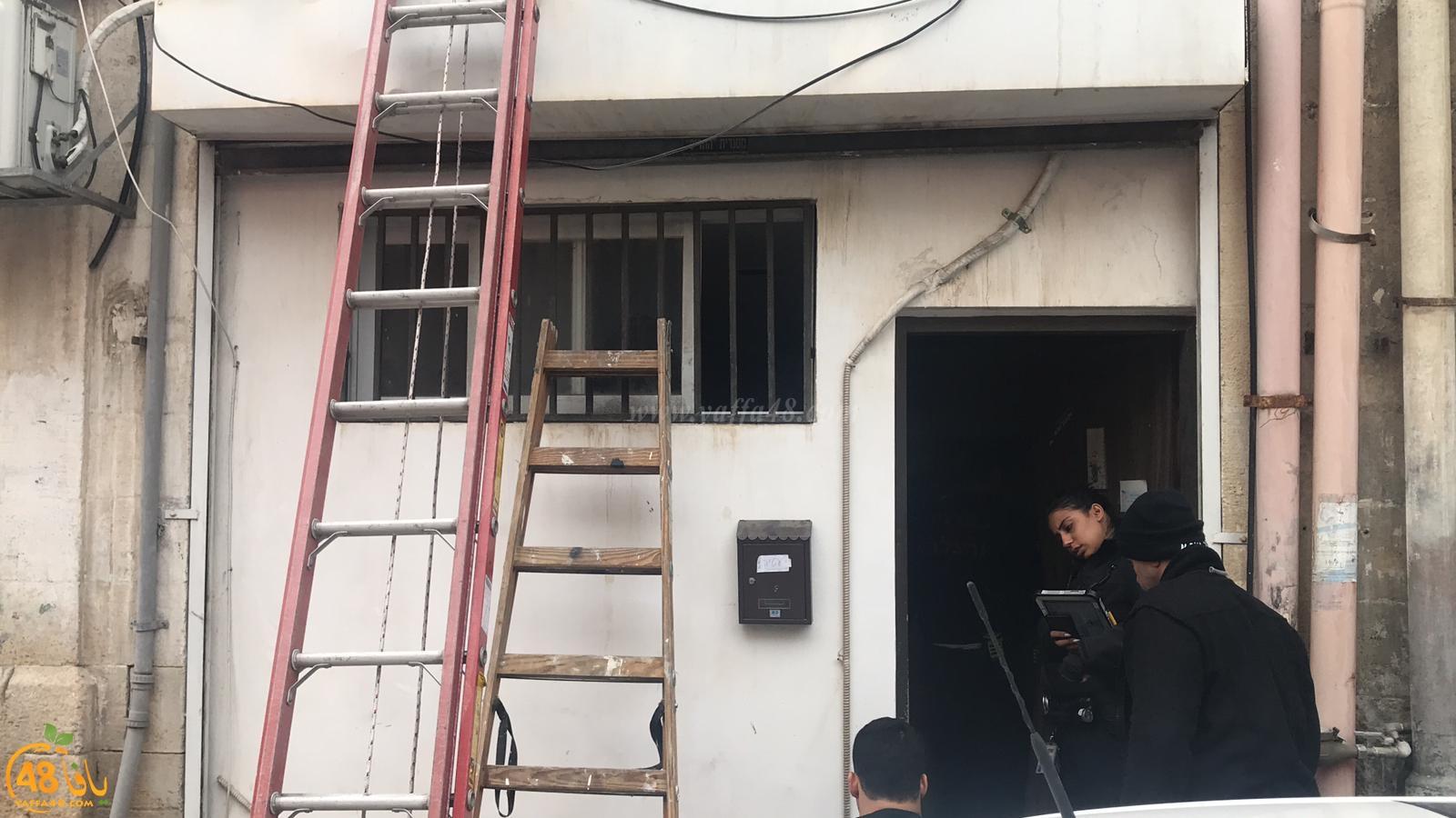 فيديو: طواقم الانقاذ تقتحم شقة بيافا بعد محاولة سيدة الانتحار