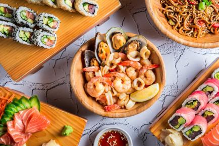 تذوقوا السوشي والوجبات الآسيوية من مطعم يوكوزونا بيافا