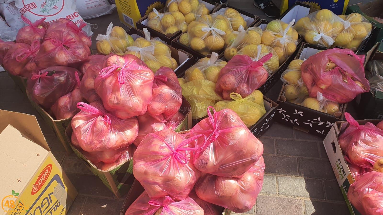 اللّد: مدرسة عتيد تجهّز وتوزّع مساعدات رمضانيّة على العائلات المستحقّة