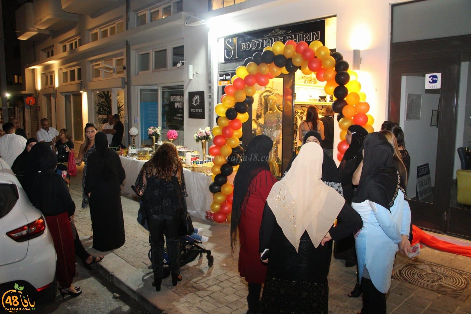 صور: افتتاح محل شيرين ميناوي بيافا للفساتين من أجود الماركات العالمية