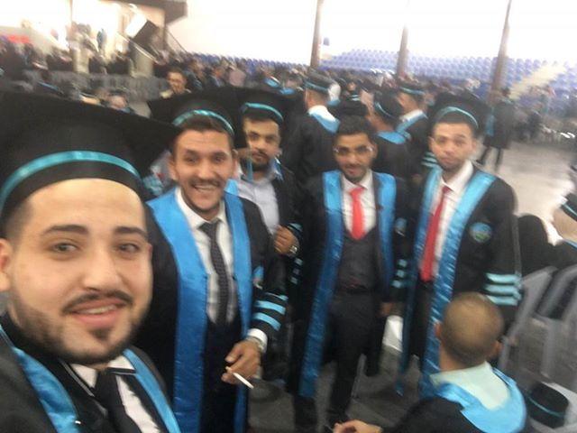 بالصور: تخرّج الطالب اليافاوي انس النونه من جامعة الزرقاء في الأردن