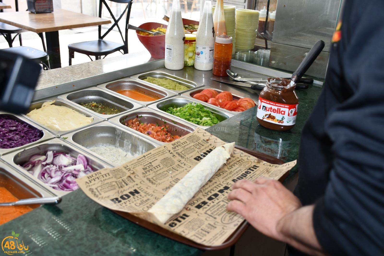 يافا: وجبات سريعة وساندويشات شهية للسحور في مطعم بالي بجيت